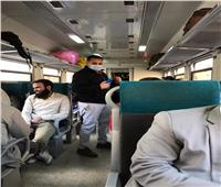 المعاناة تتحول لراحة ورفاهية.. القطار «الروسى» يكسب «المميز»| صور
