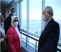 وزيرة الصحة: مستشفى الكرنك سيصبح وجهة هامة للسياحة العلاجية بمصر