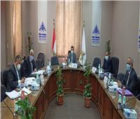رئيس جامعة بنها يترأس لجنة اختيار عميد كلية الحاسبات