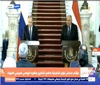 سامح شكرى: مصر مستمرة فى دعم ليبيا والحفاظ على استقرارها