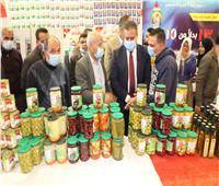 محافظ المنوفية يفتتح معرض «أهلا رمضان» بقويسنا