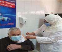 وكيل صحة الدقهلية يشهد تطعيم الفرق الطبية والفئات المستحقة بلقاح كورونا