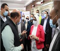 وزيرة الصحة توجه رسالة إلى أهالي أسوان