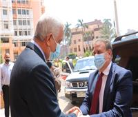 محافظ المنوفية ورئيس الجامعة يبحثان مستجدات «حياة كريمة»