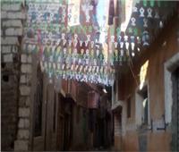 زينة رمضان تملأ شوارع القرى بالمنيا | صور