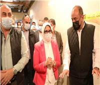 وزيرة الصحة ومحافظ أسوان يتابعا ميدانياً تجهيزات الوحدات الصحية