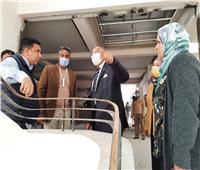 جامعة عين شمس تتابع التجديدات الإنشائية بكلية الآداب | صور