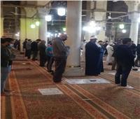 الأوقاف: التزام تام خلال أول صلاة قيام في رمضان   صور