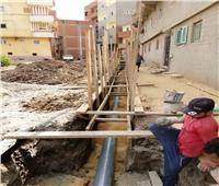 استمرار مبادرة «حياة كريمة» في قطاع المياه والصرف الصحي بقرى الشهداء