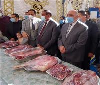 محافظ البحيرة ورئيس جامعة دمنهور يفتتحان معرض «خير رمضان» | صور