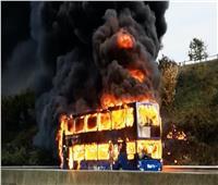 مصرع وإصابة 17 شخصا في حريق حافلة سياحية شمال شرق تايلاند