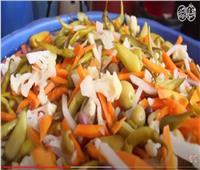«المخلل» فاكهة المائدة المصرية في شهر رمضان | فيديو