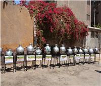 محافظ المنيا يتفقد مشروع «قدرة الخير» للأسر الأكثر احتياجا