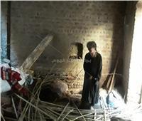 الضحايا من أسرة واحدة.. ننشر الصور الأولى لانهيار منزل في قنا