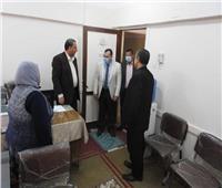 «في أول أيام رمضان»مدير تعليم المنوفية يتفقد منافذ تقديم الخدمة للمواطنين