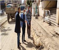 محافظ المنيا يوجه بإنجاز أعمال رصف شارع عدنان المالكي
