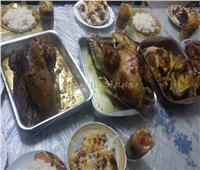 البط والاممة والبشاميل إفطار الدمايطة أول يوم رمضان   صور