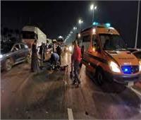 بالأسماء.. إصابة 4 أشخاص في حادث تصادمفي الطريق الصحراوي الشرقي القديم