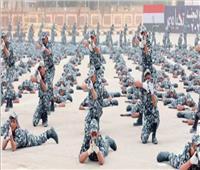 عروض قتالية وكفاءة تدريبية في احتفالية «الداخلية» بـ«يوم المجند»| فيديو