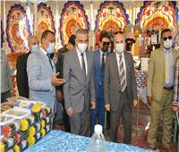 محافظ سوهاج يفتتح معرض «أهلا رمضان» بمدينة أخميم