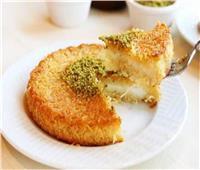 حلويات رمضان| أسرع طريقة لتحضير الكنافة بالقشطة