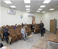 ورشة عمل لخطة وسلامة مأمونية المياه بمحطة نزلة عبداللاهبأسيوط