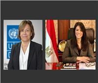 وزيرة التعاون الدولي تشهد إطلاق مختبر تسريع الأثر الإنمائي للأمم المتحدة