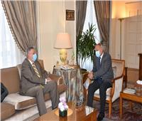 «أبو الغيط» يبحث مع مبعوث الأمم المتحدة في ليبيا تطورات الأوضاع