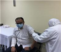 ٦٤٧ مواطنا تلقوا لقاح كورونا بمستشفى العريش