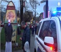 فيديو| مدينة أمريكية تنصب فوانيس رمضان في شوارعها