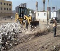 إزالة 3 مخالفات ببني مزار في المنيا