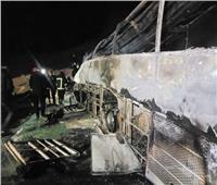 شهادة ضابط المرور في مصرع 20 شخصا بحادث تصادم أسيوط