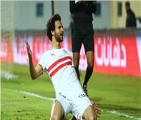 محمود علاء يسجل الهدف الثالث للزمالك في الحدود| فيديو