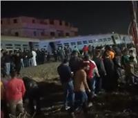 مصابو قطار منيا القمح يتلقون العلاج ..ووزير النقل كان في موقع الحادث منذ 6 أيام