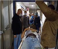 وكيل وزارة الصحة بالشرقية يتابع حادث قطار منيا القمح «فيديو»