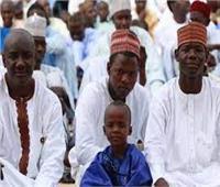 فرقة إنشادية تقوم بمهمة المسحراتي في نيجيريا