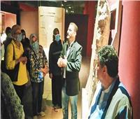 متحف الغردقة يستقبل مجموعة من المرشدين السياحيين