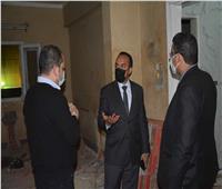 محافظة المنيا تتابع الإجراءات الوقائية بمستشفي الحميات ومصر الحرة