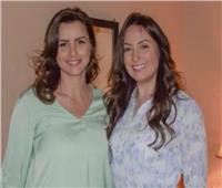 نرمين الفقي تنشر صورتها مع نور اللبنانية في كواليس «ضل راجل»