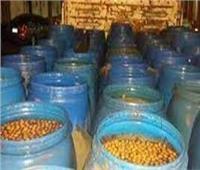 قبل بيعها في الأسواق.. مصادرة 20 طن مخللات فاسدة بالقليوبية