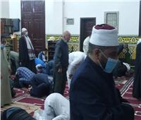 انتظام صلاة التراويح وسط إجراءات احترازية في مساجد المنوفية
