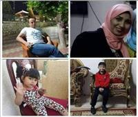 مصرع 4 أشخاص بينهم طفلان من أسرة واحدة في حادث بالشرقية