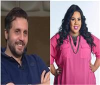 خاص| شيماء سيف وهشام ماجد يجريان مسحة «كورونا»