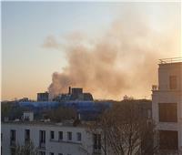 حريق في مستودع يحتوي على مواد حارقة بالعاصمة الفرنسية باريس