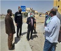 رئيس جهاز مدينة الشروق يلتقي ممثلي سكان منطقة النوادي