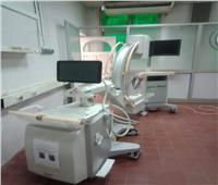 فاعل خير يتبرع  بجهاز عمليات C ARM بمستشفى كلى ومسالك ميت غمر