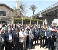 وزراء ونواب وإعلاميون في تشييع جنازة الكاتب الكبير مكرم محمد أحمد | فيديو