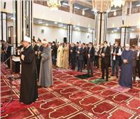 وزير الأوقاف ومحافظ الشرقية يؤديان صلاة الجمعة بمسجد الغنيمي