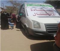 الكشف على 636 مواطنا ضمن قافلة طبية مجانية في قنا