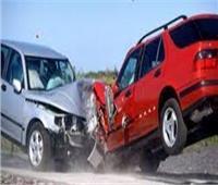 إصابة 3 أشخاص في حادث تصادم سيارتين بأسوان